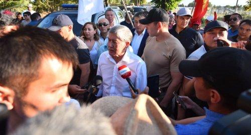Что сказал Атамбаев, вернувшись в Кыргызстан