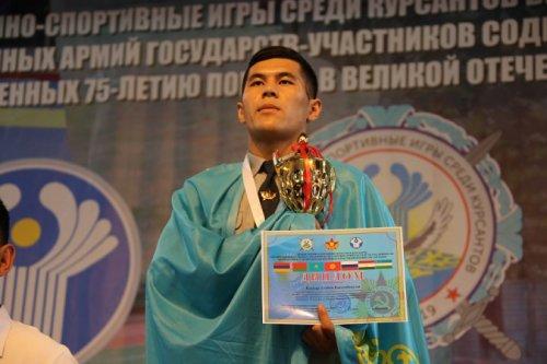 В Казахстане завершились первые военно-спортивные игры среди курсантов стран СНГ