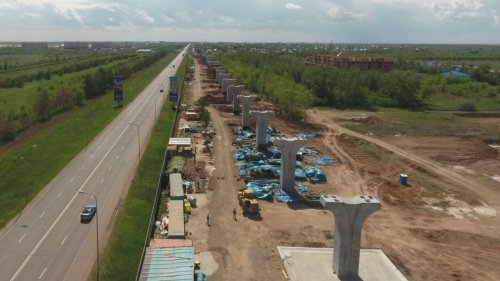 На 1,2 млрд долларов сокращен проект строительства LRT в столице