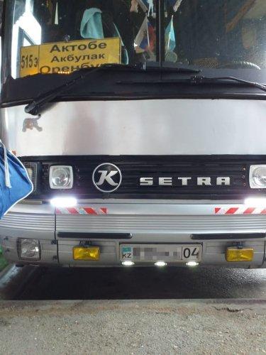 Почти 70 километров «задом наперед» проехал междугородний автобус «Актобе - Оренбург»