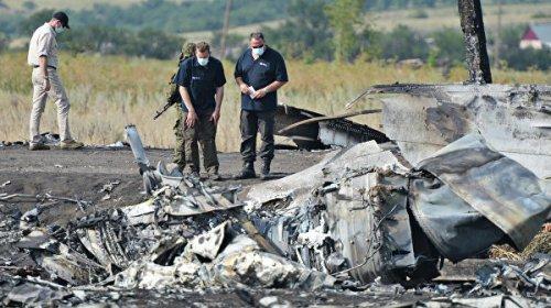 Нидерланды отказались принять данные немецкого детектива по крушению MH17