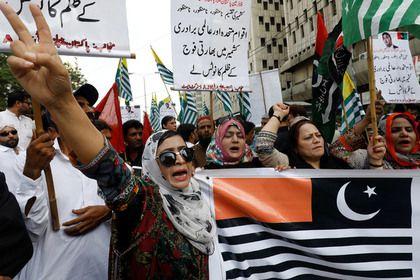 Пакистан пошел против Индии из-за Кашмира