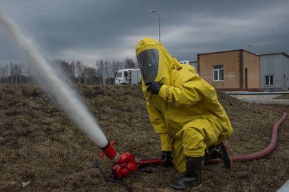 Минобороны России объявило о взрыве при испытаниях реактивного двигателя