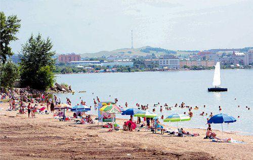 Россиянку оштрафовали за купание голышом в Кокшетау