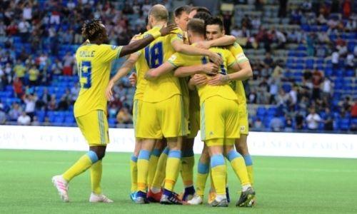 «Астана» одержала феерическую победу над «Валлеттой» в Лиге Европы