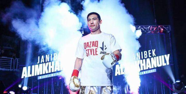 Алимханулы нокаутировал канадца после провокации с Боратом и защитил титулы от WBC и WBO