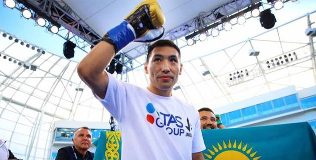 Алимханулы поднялся в мировом рейтинге после победы нокаутом и защиты титулов от WBC и WBO