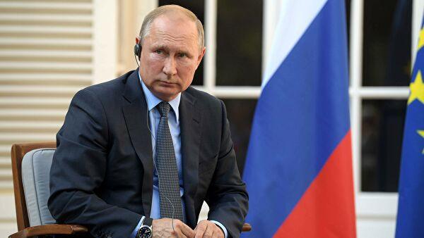 Путин впервые прокомментировал акции протеста в Москве
