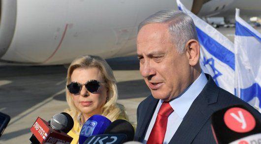 Нетаньяху объяснил оскорбившее украинцев поведение жены