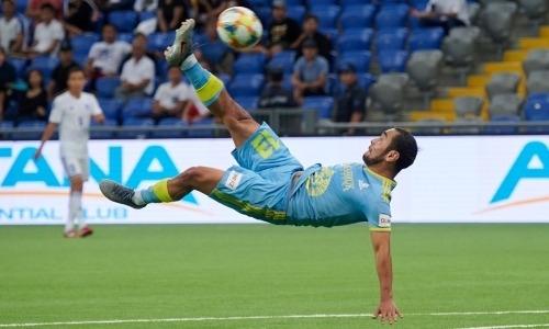 «Астана» забила три фантастических гола за 20 минут.
