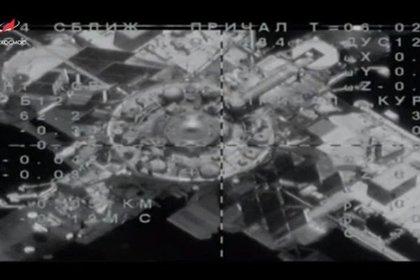 «Союз МС-14» с роботом Федором со второй попытки пристыковался к МКС