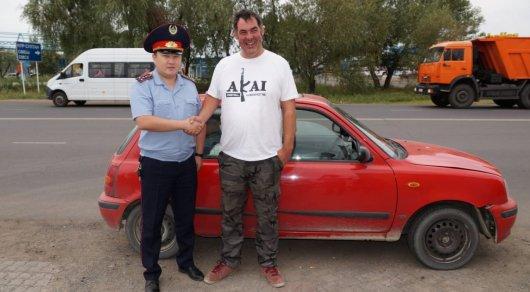 Британского туриста удивила полиция Павлодара