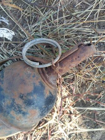 Гранату в поле обнаружил комбайнер в Павлодарской области