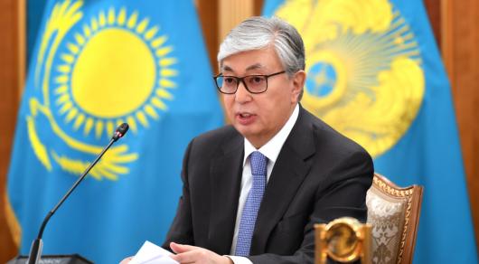 Токаев поздравил казахстанцев с Днем Конституции