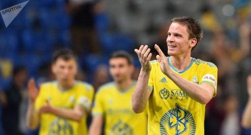 """Потрясающий хет-трик: """"Астана"""" пробилась в третий раунд Лиги Европы"""