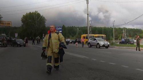 Как на войне. Взрыв на складе боеприпасов в Красноярском крае глазами соцсетей