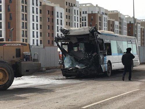 «Водитель автобуса нарушил ПДД»: глава адмполиции о смертельном ДТП в Нур-Султане