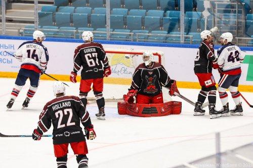 Стартовал кубок Президента РК по хоккею с шайбой