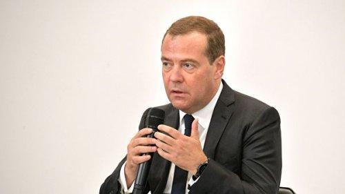 Медведев прокомментировал события в Киргизии