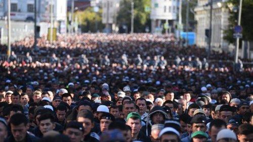 Курбан-байрам в Москве отметили около 240 тыс. человек