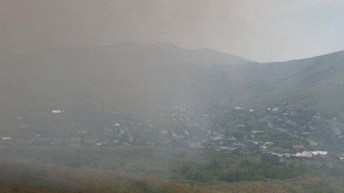 Едкий дым накрыл Усть-Каменогорск: жителей просят не открывать окна