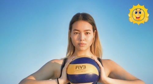 """Казахстанскую волейболистку признали """"Мисс Вьетнамское телевидение"""""""