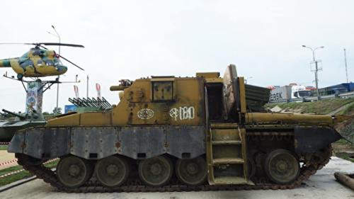 Танк ядерного апокалипсиса найден в России