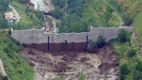 Сель в Алматы. Сколько воды дойдет до плотины