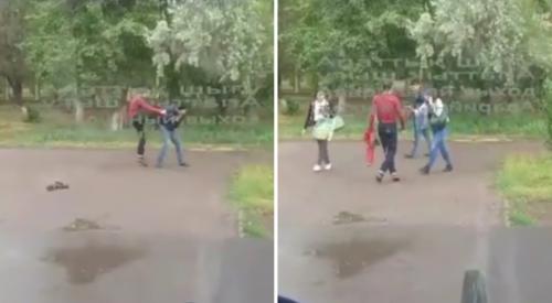Мужчина распылил баллончик в автобусе и избил пассажира в Нур-Султане