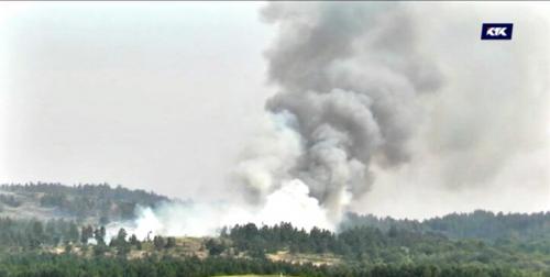 ЧС в Каркаралинском национальном парке: возникли новые очаги возгорания