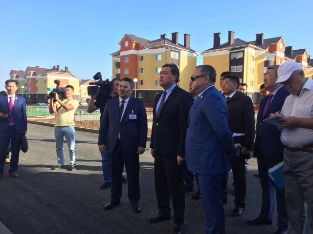 В Актобе с рабочим визитом побывал премьер-министр Казахстана