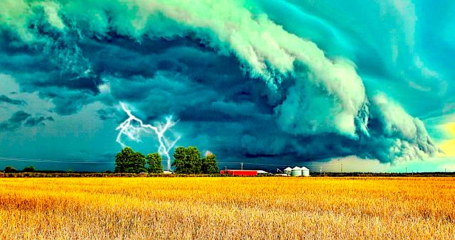 Дожди с грозами. Прогноз погоды на 24 августа в Казахстане