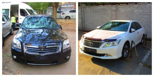 Нашли автомобили, на которых совершили жестокий наезд на людей в Алматы