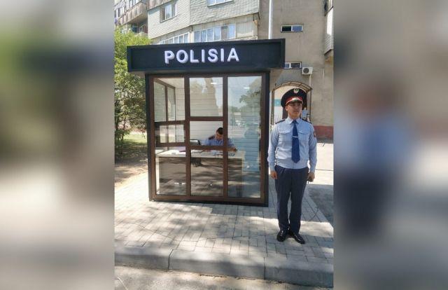 Новые пункты полиции появились в Алматы