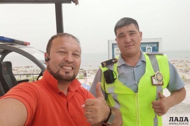 Руслан Жанпеисов: Полицейские Актау приятно удивили меня