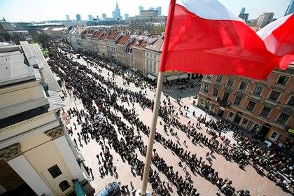 Польша обвинила Россию в несоответствии «исторической правде»