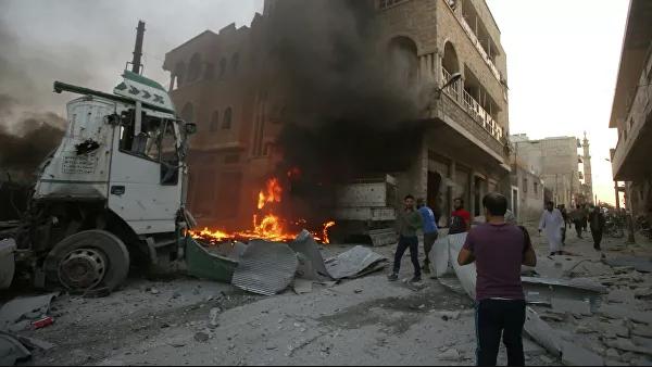 США нанесли удар в зоне деэскалации Идлиб, не уведомив Россию или Турцию