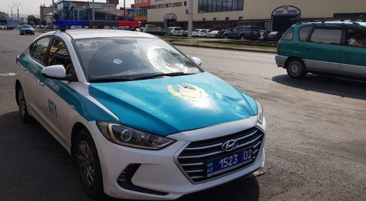 Полицейские сбили женщину в Алматы
