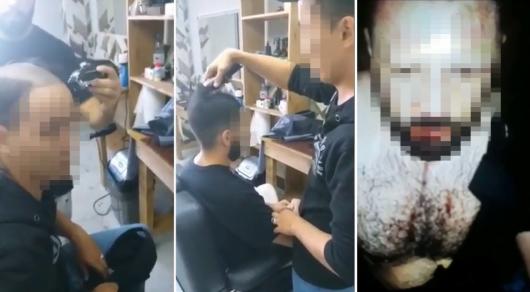 Заставил барберов побриться: клиента оштрафовали в Нур-Султане
