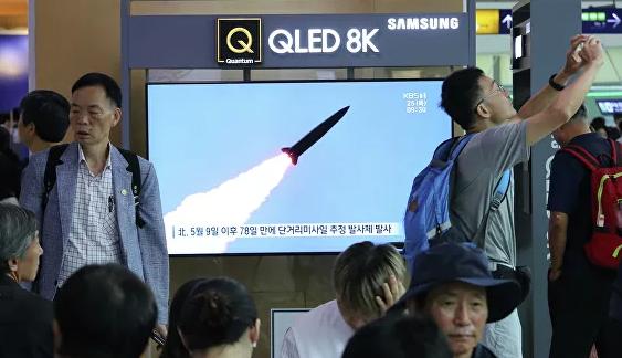 КНДР снова провела пуски снарядов в сторону Японского моря