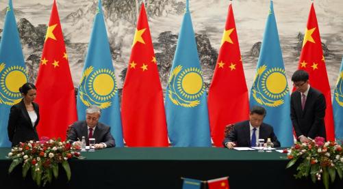 Токаев на встрече в Пекине предложил усилить роль юаня в мире