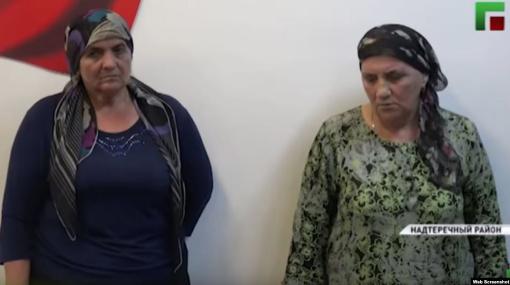 """В Чечне на госТВ отчитали """"колдунью"""", она призналась, что """"хуже шайтана"""""""