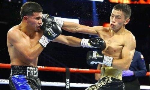 22-летний казахстанский чемпион WBC отправил в нокдаун и нокаутировал непобежденного американца в США