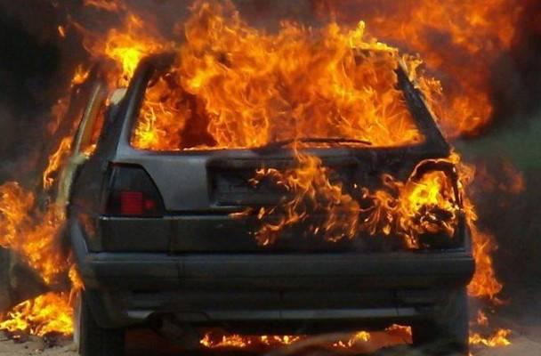 В результате ДТП на трассе «Самара - Шымкент» семья сгорела в машине