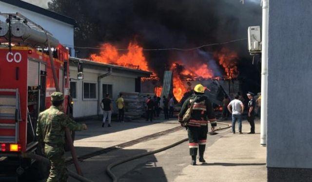 Тело нашли на месте крупного пожара в Алматы