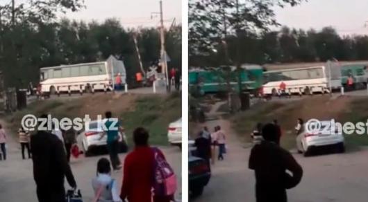 В полиции объяснили, как автобус вновь попал на место аварии в Шамалгане