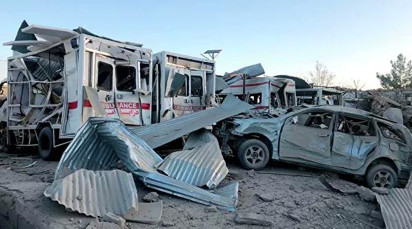 Число погибших при взрыве на юге Афганистана выросло до 12 человек