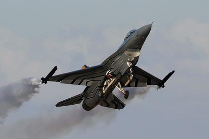 Истребитель ВВС Бельгии разбился во Франции