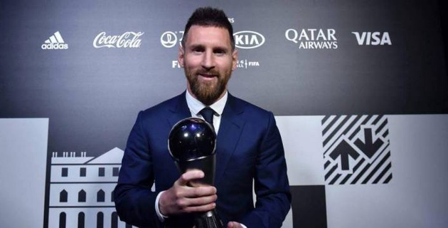 Месси - лучший футболист года. ФИФА вручила премии The Best