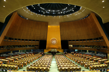 Российским дипломатам не выдали визы США на Генассамблею ООН